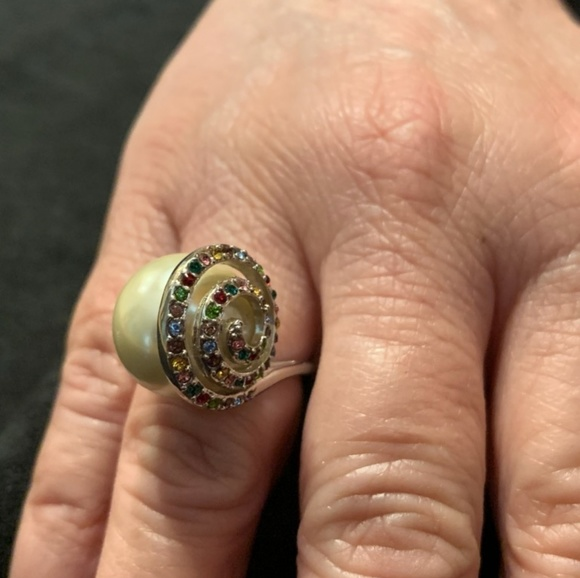 Jewelry - Pearl Cocktail Ring